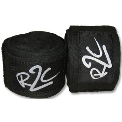 Ring To Cage R2C Black Cotton Handwraps